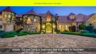 Affordable Wedding Venues In Alexandria