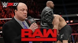 WWE 2K17: Goldberg Returns & Attacks Brock Lesnar!