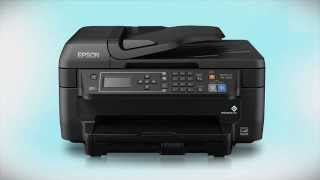 Epson WorkForce WF-2650   Wireless Setup Using the Printer's Buttons