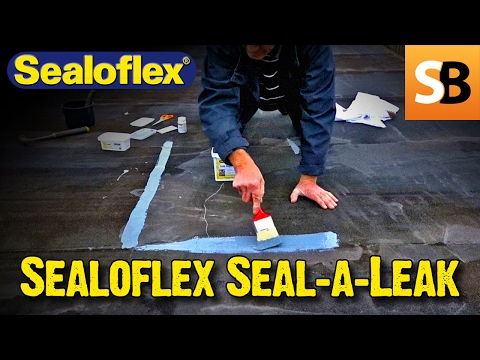 How to fix a leaking flat roof with Sealoflex Seal-a-Leak