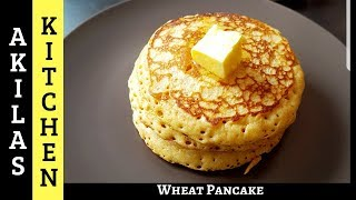 recipe for pancakes made with whole wheat flour
