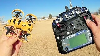 Eachine Fatbee FB90 Micro FPV Drone Flight Test Review