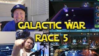 Star Wars: Galaxy Of Heroes - Galactic War Race 5