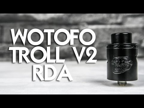 YouTube Video zu WOTOFO The Troll V2 RDA Tröpfelverdampfer