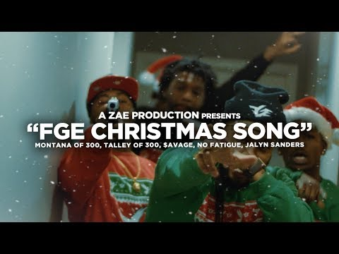 FGE Christmas Song Feat. $avage, TO3, Jalyn Sanders & No Fatigue