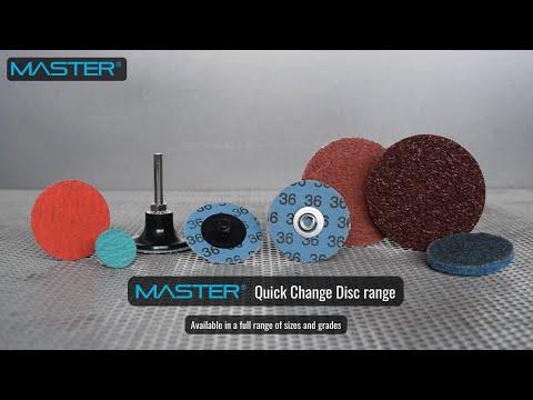 Master Quick Change Disc product range