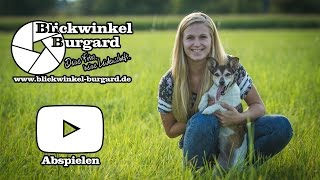 preview picture of video 'Ein ganz normales Shooting bei Blickwinkel Burgard - Hundeshooting'