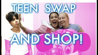 TEEN SWAP HALLOWEEN COSTUME CHALLENGE! We Swapped KLAI For A FOREIGN EXCHANGE STUDENT!