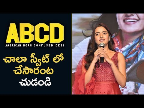Rukshar Dhillon At ABCD Pre Release Event