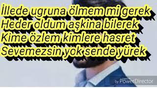 Yusuf Güney-HEDER OLDUM AŞKINA (lyrics)