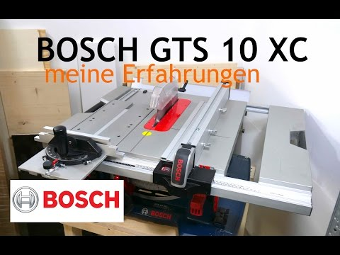 Bosch GTS 10 XC Professional Review deutsch/german