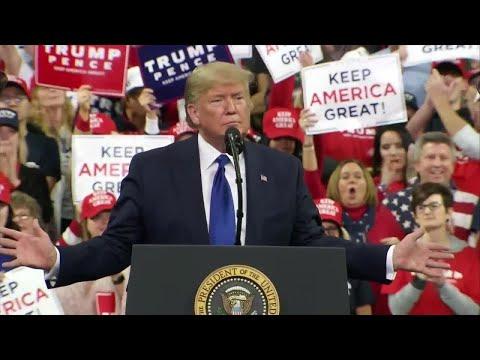 WATCH: President Donald Trump's campaign speech in Milwaukee