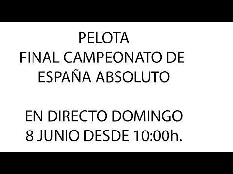 Final Campeonato España Absoluto