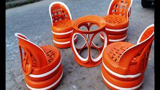 Tire Furniture DIY Ideas. Great Used Tyre Projects