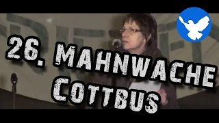 preview picture of video '26. Mahnwache für den Frieden Cottbus'
