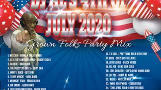 DJ AL GROWN FOLKS PARTY JULY 4TH 2020