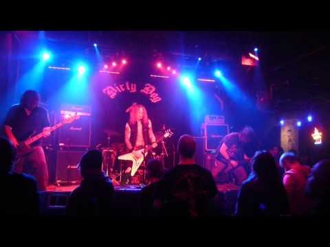 "KILLAMAUL ""Creeping Death"" at Dirty Dog, Austin, Tx. January 25, 2013"