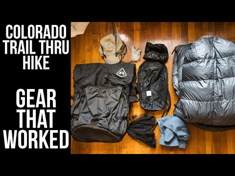 Gear That Worked Great For Me On The Colorado Trail