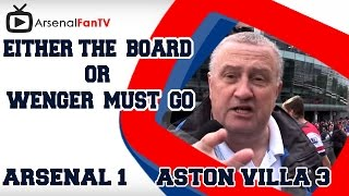 Most Famous Ever Football Fan Rant | Either the Board or Wenger Must Go!!