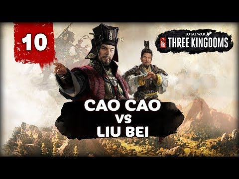 FREEDOM AT GREAT COST! Total War: Three Kingdoms - Cao Cao vs Liu Bei -  Multiplayer Campaign #10