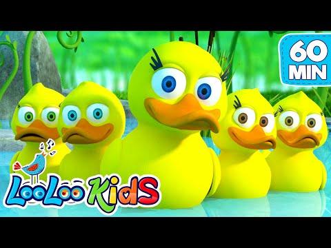 Five Little Ducks - Great Songs for Children | LooLoo Kids