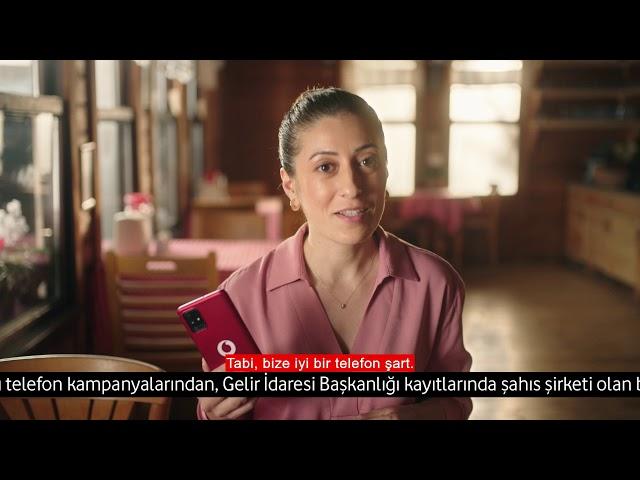Esnafımıza özel 24 ayda ödeme kolaylığı Vodafone Online Mağaza'da