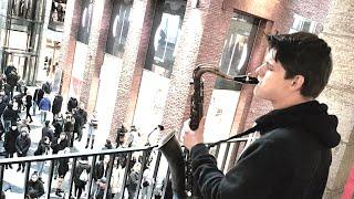 """Dance Monkey"" - Street Musician Karsten Belt (Saxophone)"