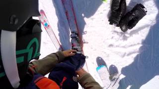 Incredible freestyle skiing (and warm-up tips) with Fabio Studer at Nine Kights