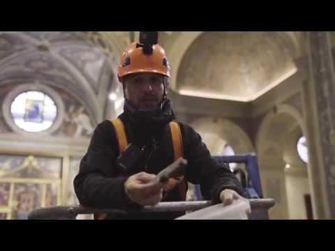 Sulla volta della Basilica di San Magno