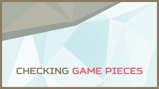 Checking Game Pieces | Game Creator 4: Puzzle Match 1