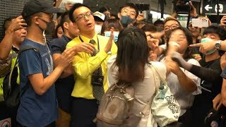 Transport chaos in Hong Kong as day of protest begins