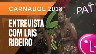 """""""QUANDO TIVER A BUNDA DA SABRINA, DESFILO"""", DIZ LAÍS RIBEIRO"""