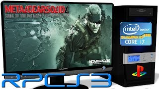metal gear solid 4 database rpcs3 - TH-Clip