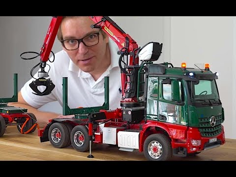 RC TRUCK ACTION REVIEW – MERCEDES 6×6 TIMBER CRANE TRUCK – ScaleART