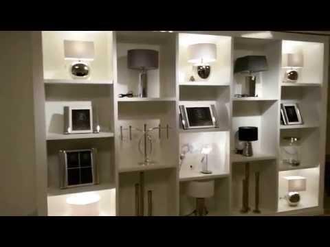 Weiße Ladentheke für Markstahler GmbH elegantes Wohnen in Karlsruhe