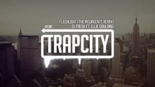 DJ Fresh ft. Ellie Goulding - Flashlight (EXSSV Remix).mp4