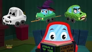 Stories of the dark | Little Red Car | Car songs and rhymes for kids