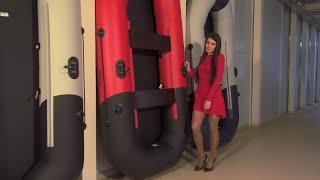 """Лодка ПВХ Таймень N 270 """"Комби"""" светло-серый/черный от компании Интернет-магазин «Vlodke» - видео"""