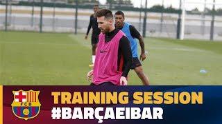 #BarçaEibar: We are ready!