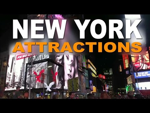 Video New York Attractions -  Best Places to Visit on City Tours