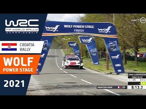 WRC 2021 第3戦ラリー・クロアチア パワーステージハイライト動画