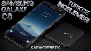 Samsung Galaxy C8 İncelemesi Review Türkçe Çift Arka Kamera Fiyat Performans Telefonu