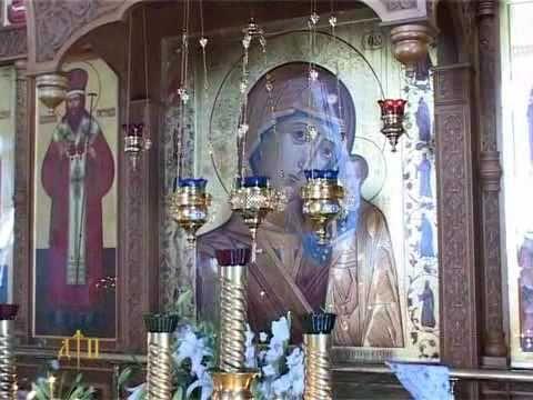 Видеосюжет о престольном празднике 21 июля 2010 года