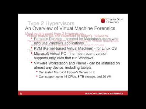 Lecture 3: Free Short Course - Digital Forensics - YouTube