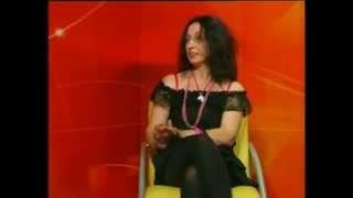 """Intervju za emisiju """"Klub književnika"""" televizije """"Art studio""""."""