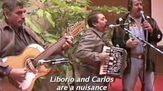 """El Viejo Paulino y Miguel Luna """"El Palomo y el Gorrion"""" en el Congreso del Corrido TX 1996"""