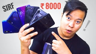 Top 6 Best Smartphones Under 8000 - Full Paisa Wasool 😍😍 - Download this Video in MP3, M4A, WEBM, MP4, 3GP