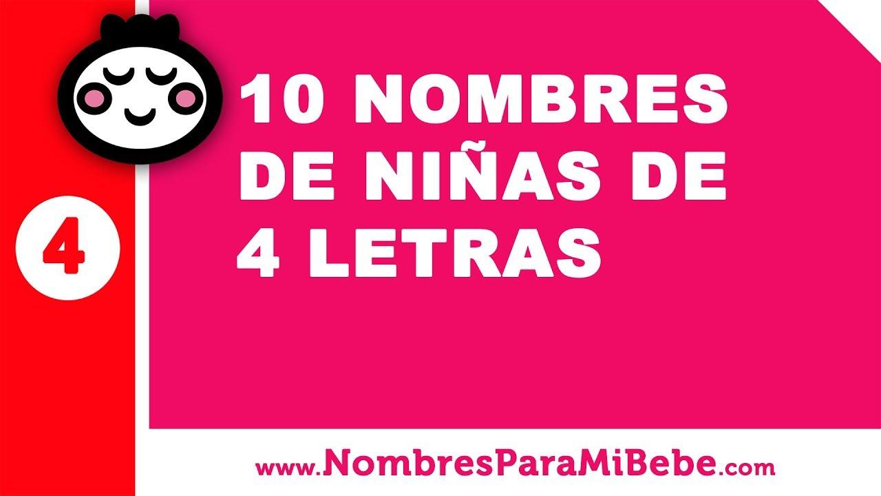10 nombres de niñas de cuatro letras - nombres de bebé - www.nombresparamibebe.com