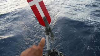 How does a windvane work