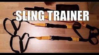Schlingentrainer Sling Trainer SportPlus SP-TX-001